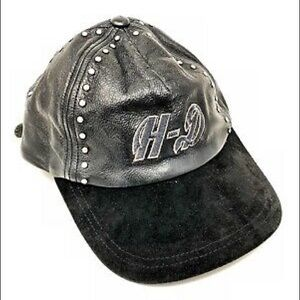 Harley Davidson Hat Leather Brand New